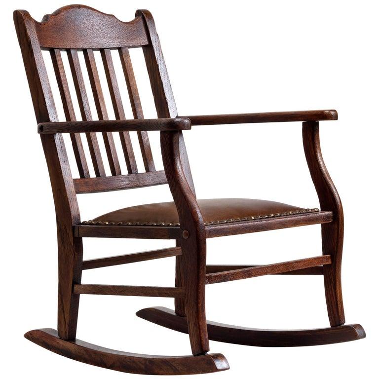 American Craftsman Child's Rocking Chair