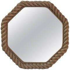 Octagonal Rope Mirror Audoux Minet