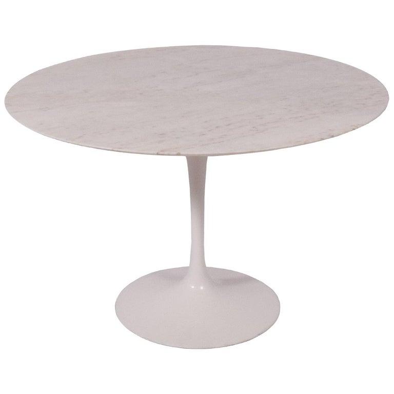 Tulip Table Marble Top by Eero Saarinen for Knoll