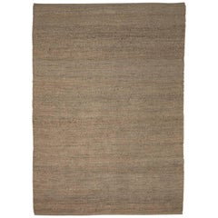 Hand-Loomed Herb Rug by Nani Marquina in Brown, Large