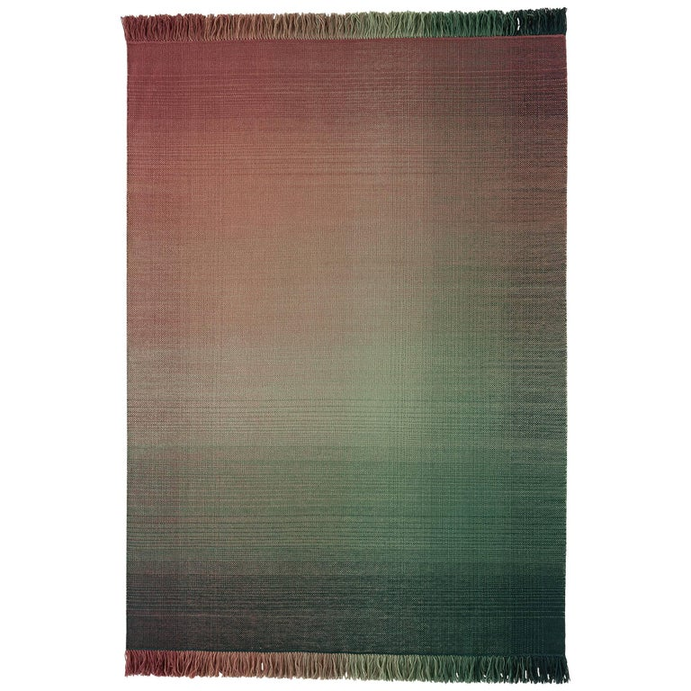 Hand-Loomed Nanimarquina Shade Rug Palette 3 by Begum Cana Ozgur, Large For Sale