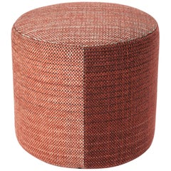 Hand-Loomed Nanimarquina Shade Pouf 1A by Begum Cana Ozgur & Marcos Catalan