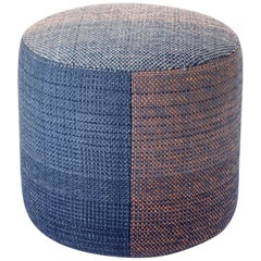Hand-Loomed Nanimarquina Shade Pouf 2B by Begum Cana Ozgur & Marcos Catalan
