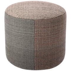 Hand-Loomed Nanimarquina Shade Pouf 4B by Begum Cana Ozgur & Marcos Catalan