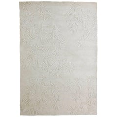 Hand-Knotted Asia Rug Four in Light Gray by Nani Marquina, Large