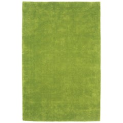 Hand-Tufted Nanimarquina Flying Carpet Two Rug in Green, Large