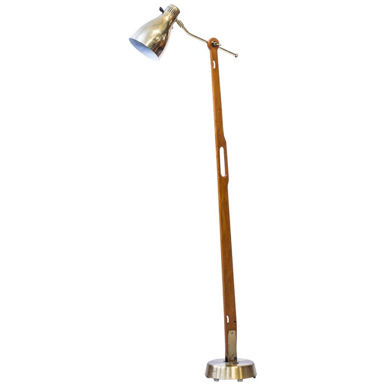 Floor Lamp Model 544 by Hans Bergström
