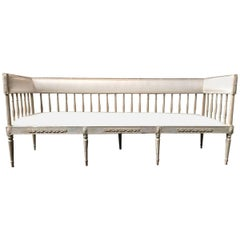 Gustavian Daybed Sofa, Early 19th Century