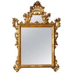 Venetian Mirror in Giltwood from 20th Century