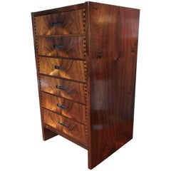 Andreas Hansen, Midcentury Rosewood Chest of Drawers