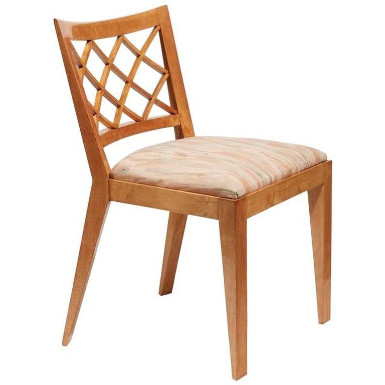 "Chair, ""Croisillon"" Model"