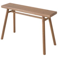 Wing Stand, Sienna Minimalist Stool or Side Table in Wood