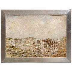 Fine Impressionist Painting, by Julius Seyler
