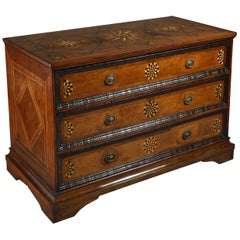 A Large Scale Late 17th Century North Italian Commode