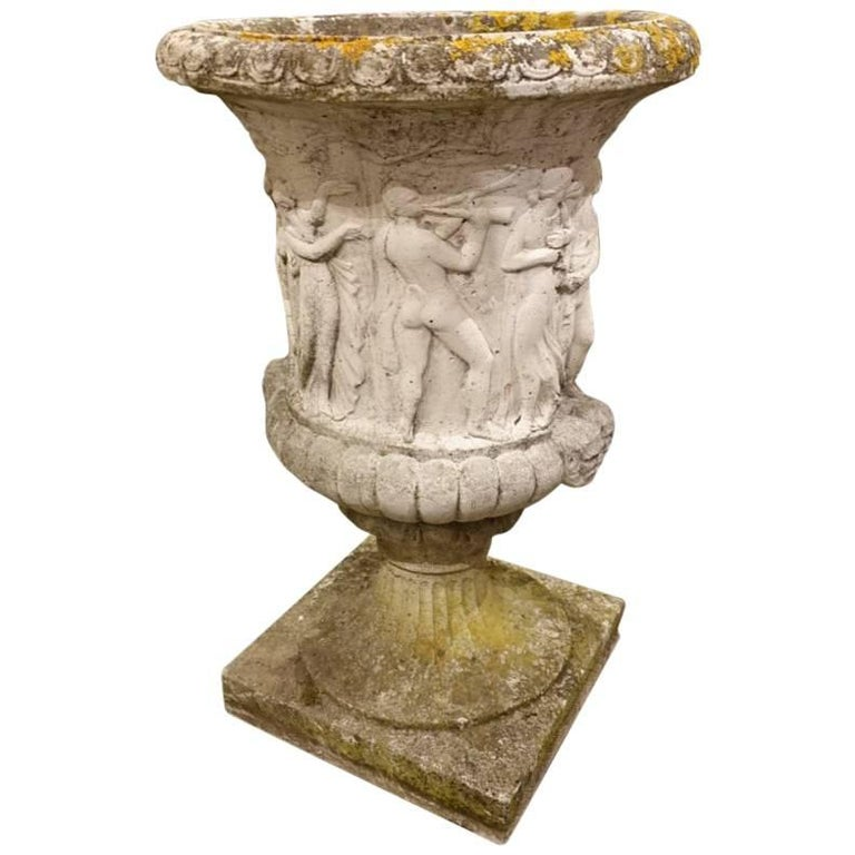 French Sandstone Planter / Jardiniere