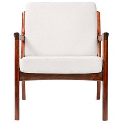 Ole Wanscher Senator Lounge Chair, Rosewood