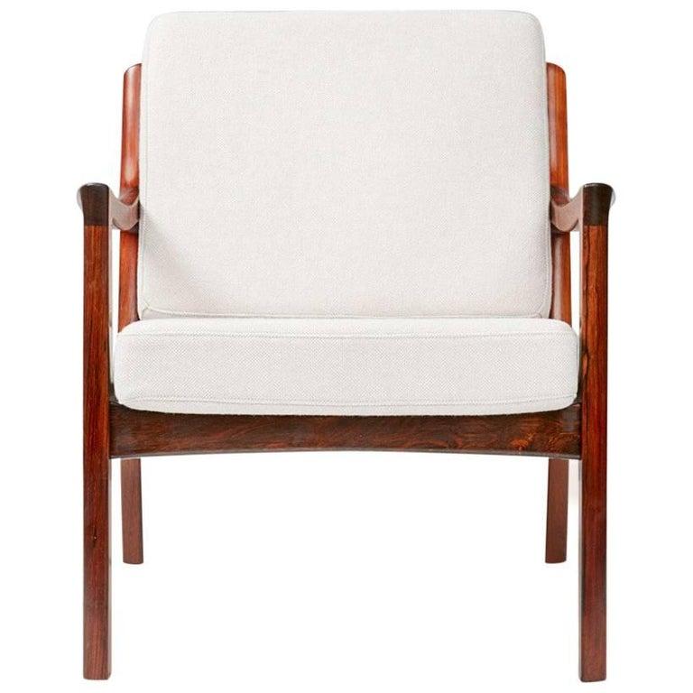 Ole Wanscher Senator Lounge Chair, Rosewood