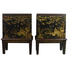 Chinoiserie End Tables