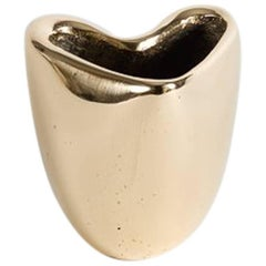 """Jaimal Odedra """"Heart,"""" Extra Small Contemporary Urn, Bronze, Morocco, 2018"""
