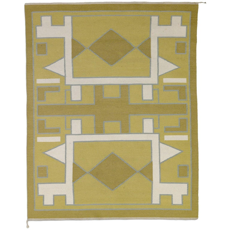 Anna Thommesen, Unique Handwoven Carpet / Wall Tapestry, circa 1950