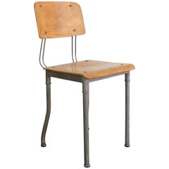 Modernist Robert Wagner Rowac Prototype Industrial Chair, circa 1920s