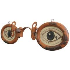 Zinc Opticians Trade Sign, circa 1920s