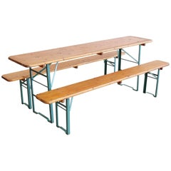 German Beer Garden Picnic Table