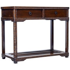 Late 19th Century Chinese Consul Table