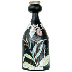 Beautiful, Handmade Vase of Glass by Erwin Eisch, 1985