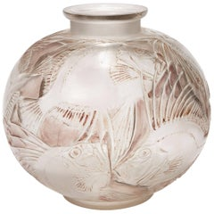 Fish Vase by René Lalique, circa 1930