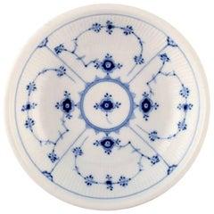 Royal Copenhagen Blue Fluted Salad Bowl / Round Potato Dish. No. 1/305