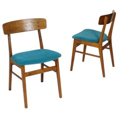 Midcentury Danish Modern Dining Chairs from Farstrup Mobler, Set of Two