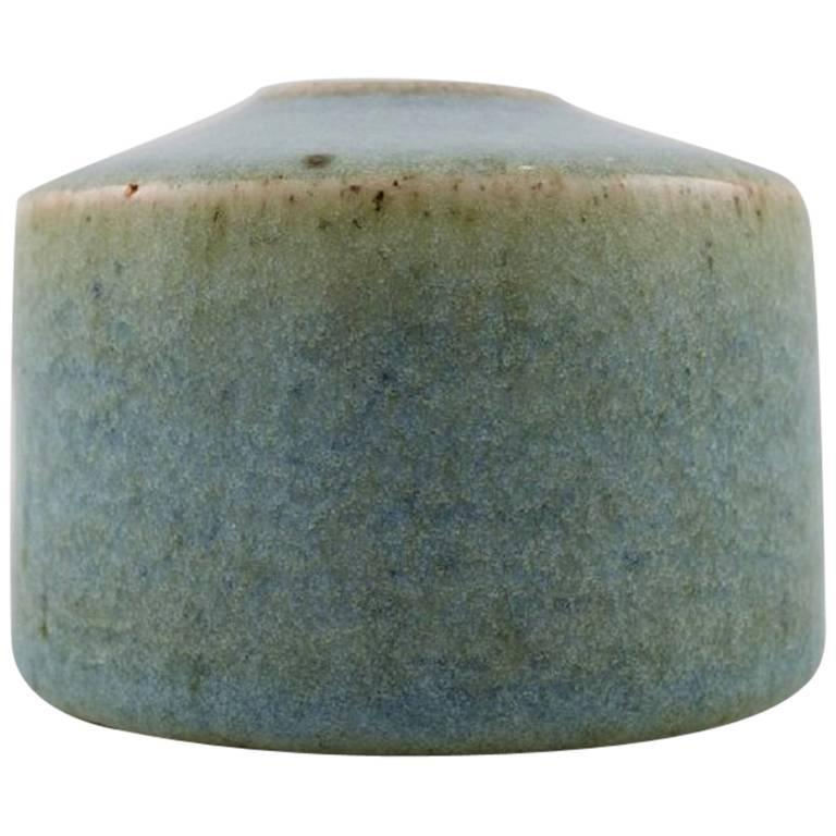 Edith Sonne Bruun for B&G / Bing & Grondahl, Small Ceramic Vase