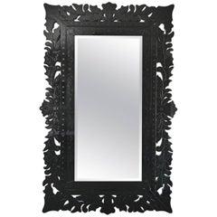 Large Bregora, Superb Pierced Freeze Mirror