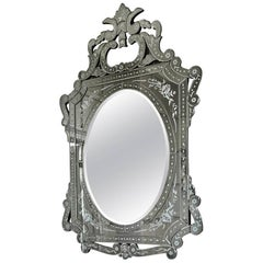 Vedelago, Etched Venetian Mirror