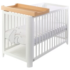 Changing Tray in Natural Wood Finish by MISK Nursery