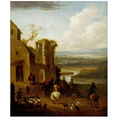 Meet in the West of England, 18th Century English Landscape