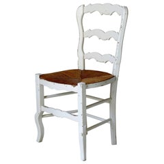 Set of Six Provençal Dining Chairs, France, circa 1920s