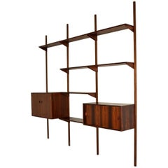 1960s Vintage Danish PS Shelving System