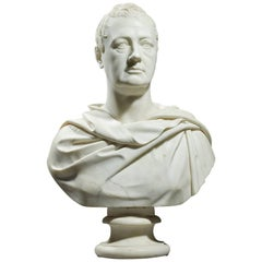 Fine 19th Century Neoclassical Marble Portrait Bust