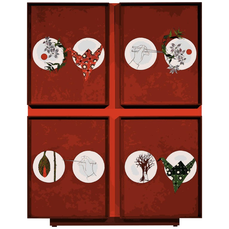 Divine Contemporary Cabinet by Luísa Peixoto For Sale