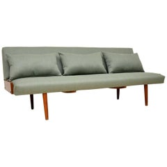 1950s Vintage Danish Sofa Bed