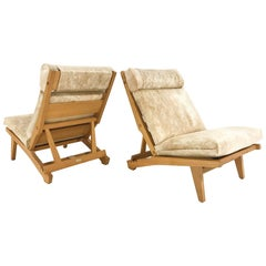 Hans Wegner for AP Stolen AP71 Lounge Chairs in Brazilian Cowhide, circa 1969