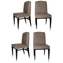 Set of Four Raphael Chairs