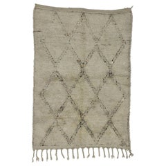 Vintage Berber Moroccan Rug with Hygge Style