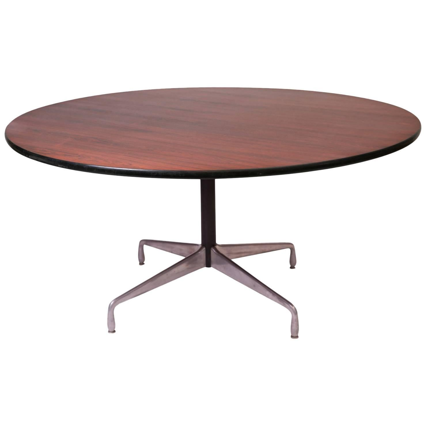 Eames Herman Miller Rosewood Dining Table