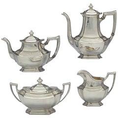 Washington, Sterling Silver Tea Set by Wallace