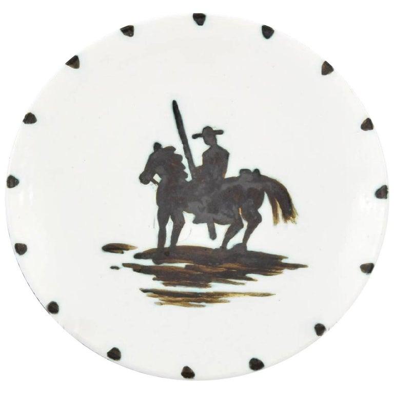Pablo Picasso Picador Plate 'A.R. 160'