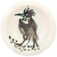 Pablo Picasso Oiseau a La Huppe Bowl 'A.R. 173'