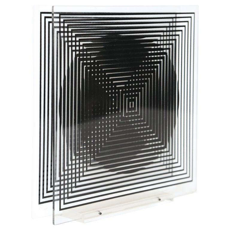 Victor Vasarely Optic Sculpture